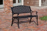 Viareggio Patio Bench, Sturdy And Stunning Outdoor Home Decor by Well Travel Living