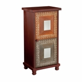 Vibrant and Glorious Medina Storage Cabinet by Southern Enterprises