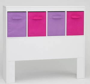 Vibrant Fantastic Stylized Girl's Headboard by 4D Concepts