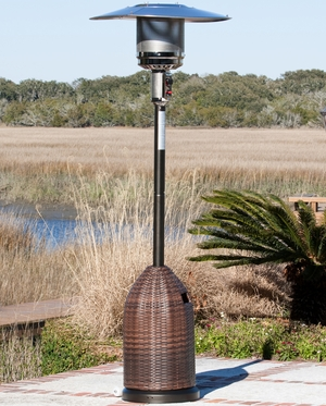 Vicenza Wicker Patio Heater, Dynamic And Glamorous Functional Unit by Well Travel Living