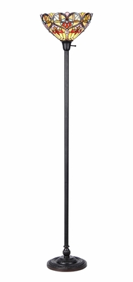 Victorian Styled Classy Torchiere Floor Lamp by Chloe Lighting
