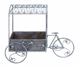 Victorian Tricycle Cart Themed Planter For Potted Plants Brand Woodland