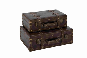 Vienna Wonderful Designer Suitcase Set Brand Benzara