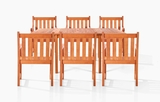 Villa Six-Seater Dining Set by Vifah