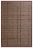 Villager Coffee Bamboo Rug 5' x 8' Brand Anji Mountain by Anji Mountain