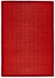 Villager Crimson Bamboo Rug 4' x 6' Brand Anji Mountain by Anji Mountain