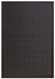Villager Ebony Bamboo Rug 6' x 9' Brand Anji Mountain by Anji Mountain