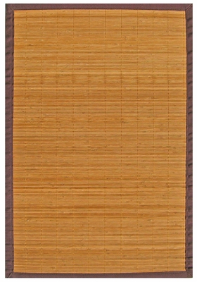 Villager Natural Bamboo Rug 4' x 6' Brand Anji Mountain by Anji Mountain