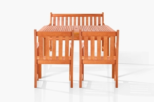 Vincent Bench-Seater Dining Set by Vifah