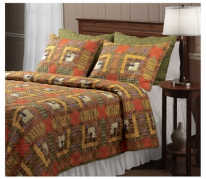 Vintage Home Collection Lakewood Lodge Multi Color Standard Sham by Greenland Home Fashions