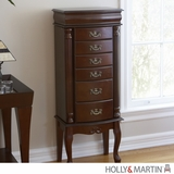 Vintage Piece of Holly & Martin Amelia Jewelry Armoire by Southern Enterprises