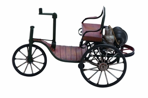 Vintage Turn of The Century Tricycle Carriage Decor  by Benzara