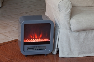 Viterbo Electric Fireplace Stove, Solid And Stylish Superb Heating Unit by Well Travel Living