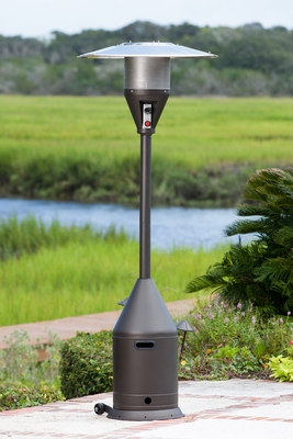 Vittoria Patio Heater, Majestic And Heavy-duty Outdoor Home Decor by Well Travel Living