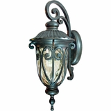 Viviana Collection Amazing Styled 1 Light Exterior Light Wall Mount in Oil -Rubbed Bronze by Yosemite Home Decor