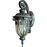 Viviana Collection Classic 1 Light Exterior Light Wall Mount in Oil -Rubbed Bronze by Yosemite Home Decor