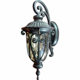 Viviana Collection Distinctively Styled 3 Exterior Lights Wall Mount by Yosemite Home Decor