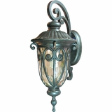 Viviana Collection Fascinating Styled 1 Light Exterior Light Wall Mount in Oil -Rubbed Bronze by Yosemite Home Decor