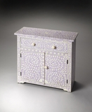 "Vivienne Lavender Bone Inlay Console Chest 29""W by Butler Specialty"