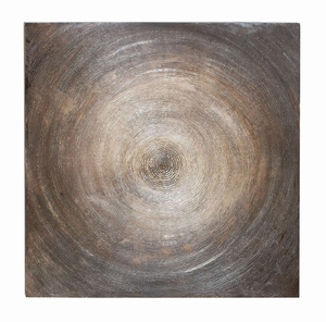 Wall Decor _ Canvas Art Features a Spiral Design Brand Woodland