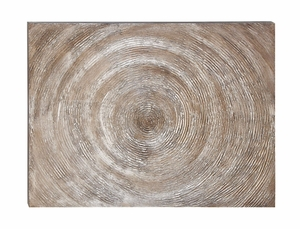Wall Decor Canvas Art Features a Spiral Design Brand Woodland