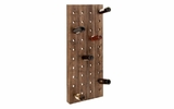 Wall Decor Wall Art Features Wood Wine Rack Design Brand Woodland