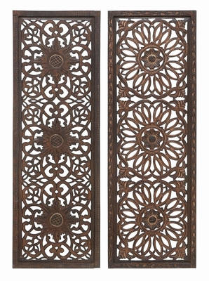 Wall Panel 2 Assorted Wood Sculpture That Can Be Used Anywhere Brand Woodland