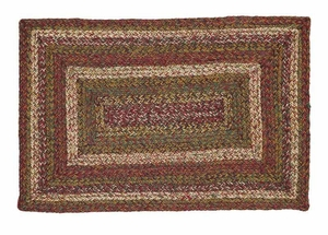 Walnut Grove Rectangle Braided Rugs Brand VHC