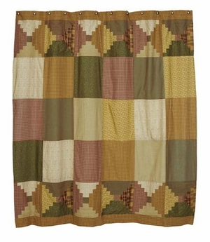 Walnut Grove Shower Curtain �Stunning Colors Keep In Jubilant Mood Brand VHC