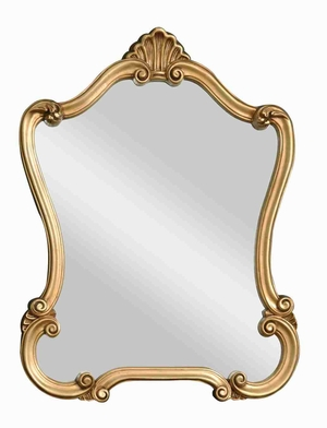 Walton Hall Wall Mirror with Gold Antique Specking Brand Uttermost