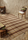 Warm and Appealing Berkeley Wool & Cotton Rug Rect by VHC Brands