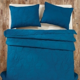 Washington Star Blue Twin Quilt 86x68 - 25400 by VHC Brands