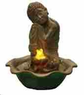 Water Fountain _ Resting Buddha Tabletop Fountain Brand Domani