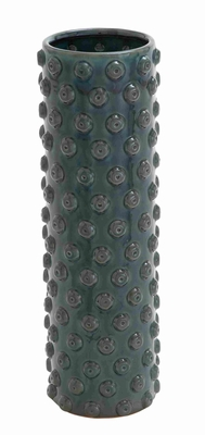 Weather Resistant Ceramic Crackled Vase with Easy to Use Facility Brand Woodland
