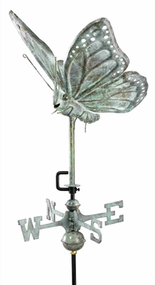 Weather Vane - Charming Butterfly Weathervane For Your Roof Brand Good Direction