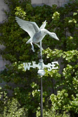 Weather Vane - Charming Landing Duck Weathervane For Your Roof Brand Good Direction