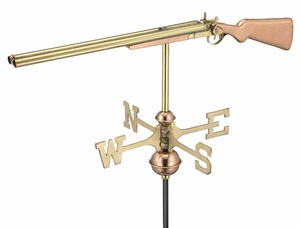 Weather Vane - Shotgun Weathervane For Your Roof Brand Good Direction