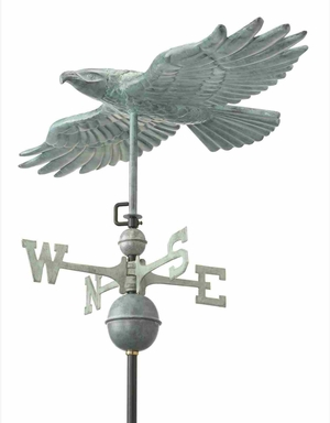 Weather Vane - Soaring Hawk Weathervane For Your Roof Brand Good Direction
