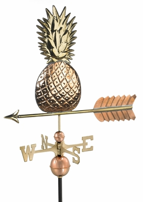 Pineapple Weathervane - Polished Copper by Good Directions