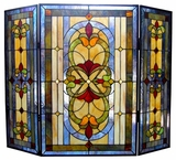 Well Designed Fancy Victorian Fireplace Screen by Chloe Lighting