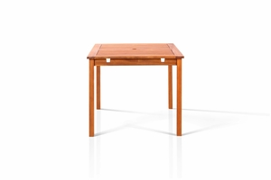 "Well Square Table 47""x47"" by Vifah"