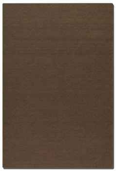 Wellington Brown 5' Hand Woven Wool Rug with Natural Striations Brand Uttermost