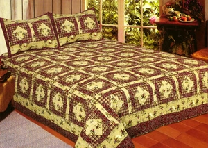 Western 100% Cotton Western Diamond Pattern Sham by American Hometex