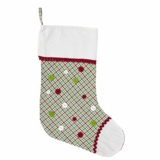 Whimsical Christmas Stocking 11x15