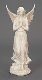 White Fairy Angel Garden Decor Sculpture, Angel Garden Statue Brand Woodland
