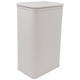 White/Silver Budget Series Apartment Hamper by Redmon