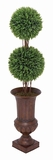 Wild Rosemary Topiary Tree in Durable and Sturdy Plastic Brand Woodland