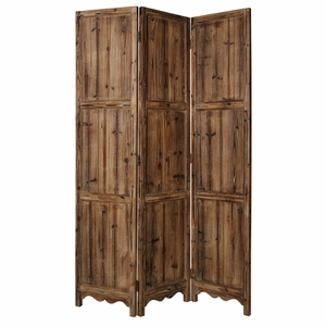Winchester Solid Wood Screen Crafted with Rubbed in Rustic Finish Brand Screen Gem