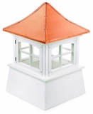 "Windsor Cupola 26"" x 38"" - Vinyl and Copper by Good Directions"