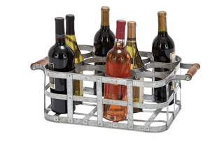 Wine Holder With Twelve Bottles Capacity In 4x3 Pattern Brand Woodland